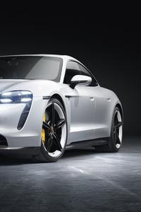 320x568 Porsche Taycan Turbo S 2019