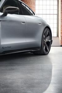 1440x2960 Porsche Taycan Turbo Sportdesign 4k