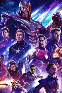 240x320 Poster Avengers Endgame 2019