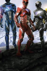 320x480 Power Rangers 12k