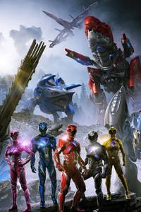 Power Rangers 2017 Zords