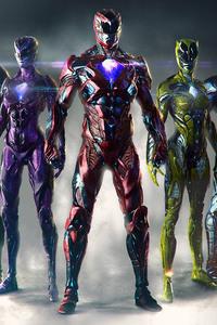 Power Rangers Artwork