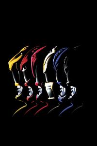 Power Rangers Digital Art