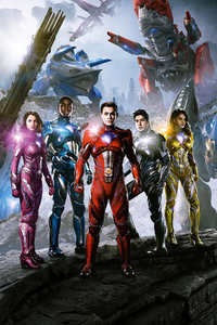 240x320 Power Rangers Movie 4k