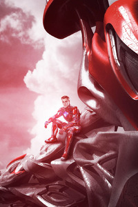320x480 Power Rangers Zord Red