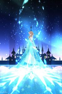 240x320 Princess Elsa 4k