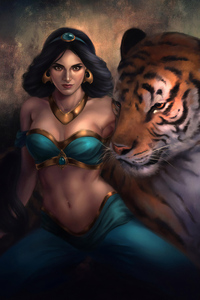540x960 Princess Jasmine And Raja