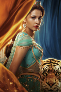 1080x2280 Princess Jasmine In Aladdin 2019 5k