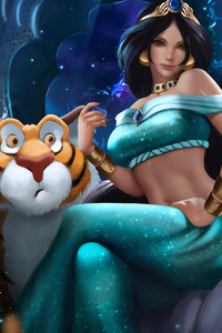 540x960 Princess Jasmine New Artwork