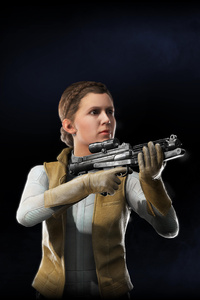 1242x2688 Princess Leia Star Wars Battlefront II 2017