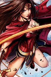 540x960 Princess Wonder Woman 5k