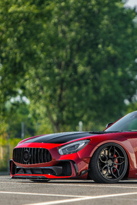 Prior Design Mercedes AMG GT S PD700GTR 2018 Side View