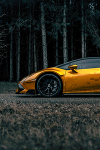 1080x2160 Prior Lamborghini Huracan Side View