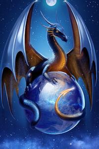 Protective Dragon 4k