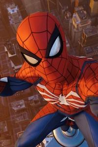 1440x2960 Ps4 Pro Spiderman