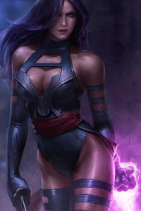Psylocke Art