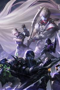 1440x2560 Psyops League Of Legends