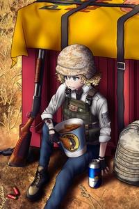 Pubg Air Drop Anime Art 8k
