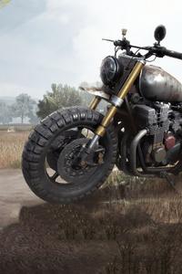 240x400 Pubg Bike 4k