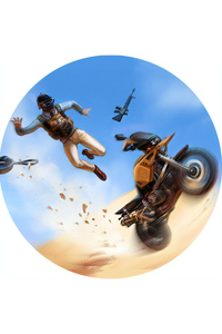 Pubg Bike Crash Art 4k