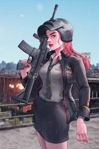 Pubg Game Girl 4k