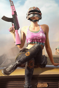 Pubg Girl With Gun 4k 2019