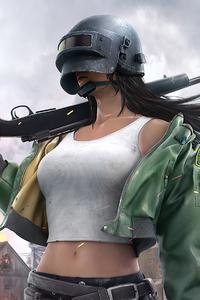 Pubg Helmet Girl 4k 2020
