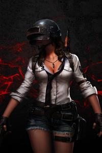 PUBG Helmet Girl