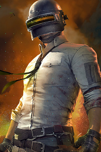 Pubg Helmet Guy 2020 4k New