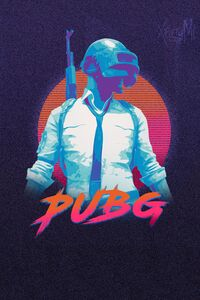 Pubg Helmet Guy Abstract Art 4k