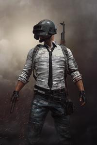 1440x2960 PUBG Helmet Man
