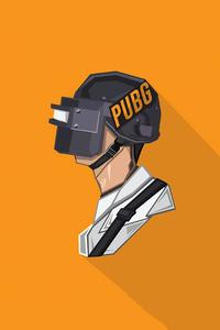 Pubg Helmet Minimal 4k