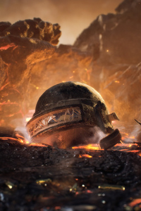 2160x3840 Pubg Helmet War 4k