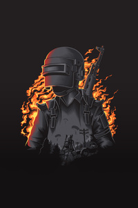 Pubg Illustration 4k