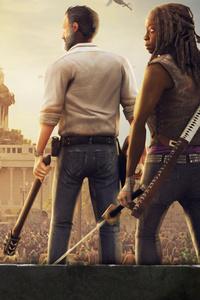 1242x2688 Pubg Walking Dead