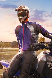 1280x2120 Pubg Yamaha Helmet