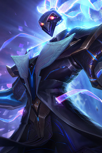 1080x1920 Pulsefire Thresh League Of Legends Splash Art