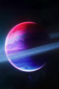 480x800 Pulvis Planet 5k