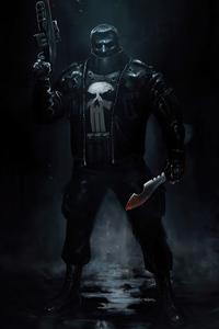 1125x2436 Punisher 4k 2020 Artwork