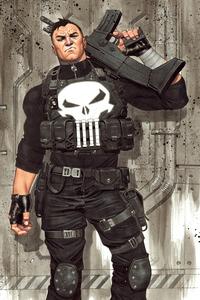 Punisher 4k Art