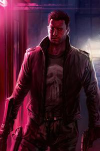 Punisher 80s Vibe 4k