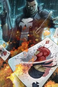 720x1280 Punisher Artwork 4k