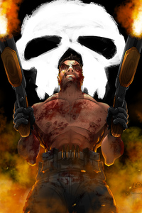 Punisher Guns Up
