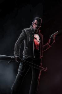 Punisher In Jacket