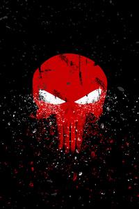 720x1280 Punisher Logo 4k