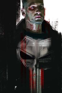 320x480 Punisher Tv Series Artwork