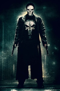 640x1136 Punisher With Mask