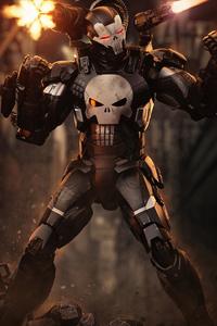 Punisher X War Machine