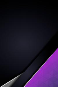 Purple Grey Minimal Abstract 4k