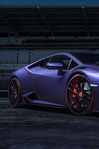 Purple Lamborghini 4k 2019